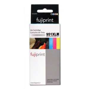 CARTUCHO FUJIPRINT PARA HP 951XLM MAGENTA 30ML