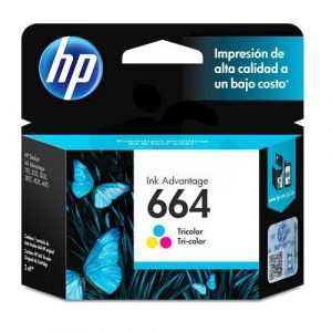 CARTUCHO HP 664 COLOR ORIGINAL 2ml.