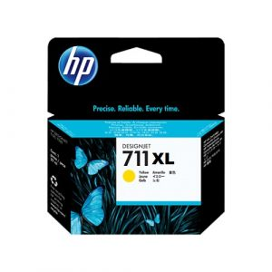 CARTUCHO HP CZ132A 711XL YELLOW 29ML.