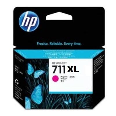 CARTUCHO HP CZ131A 711XL MAGENTA 29ML.