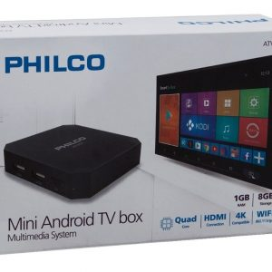ANDROID TV BOX PHILCO 2G 16G QC HDMI 4K WIFI ANDROID 8.1