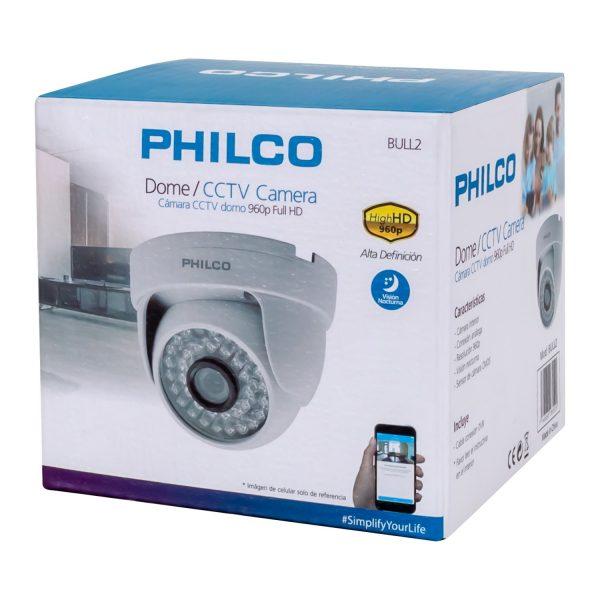 CAMARA PHILCO CCTV TIPO DOMO BULL2